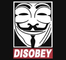 disobey V For Vendetta by LordOfTheShirt