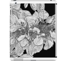 A study in black and grey iPad Case/Skin