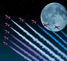 Night Flight by Steve Purnell