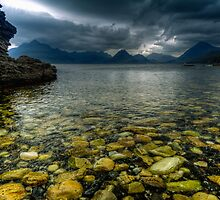 Storm clouds over Elgol by Guy  Berresford