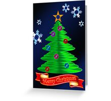 CD Christmas Tree Greeting Card