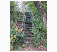Riverbank Stairs Kids Tee