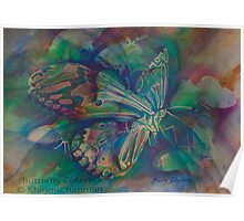 Watercolour: Butterfly Coterie Poster