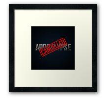 Apocalypse... CANCELLED Framed Print