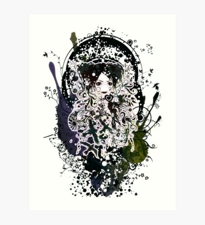 Froth on the Daydream Art Print