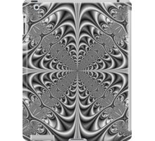 Gothic Geometry in Monochrome iPad Case/Skin