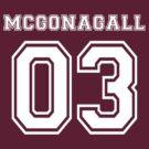 Minerva McGonagall Quidditch Jersey by teecup