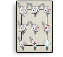 Rabbit Decay Canvas Print