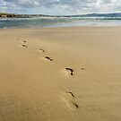 Footprints by bethadin