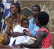 Kitgum Mothers, Uganda Photographic Print
