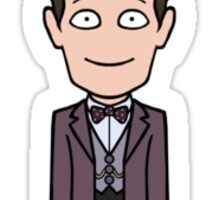 The Eleventh Doctor (sticker) Sticker