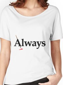Always Castle Women's Relaxed Fit T-Shirt