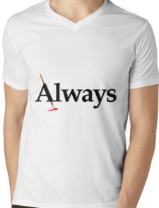 Always Castle Mens V-Neck T-Shirt