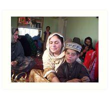 Gardez Family, Afghanistan Art Print
