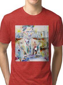 GEORGE ORWELL - watercolor portrait Tri-blend T-Shirt