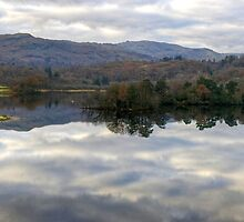 Rydal Water Panorama by Jamie  Green