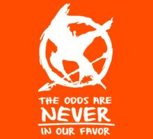 The Hunger Games - The odds are never in our favor by kelvclothing