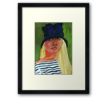 Self-Portrait No. ! Framed Print