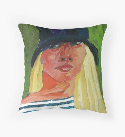 Self-Portrait No. ! Throw Pillow