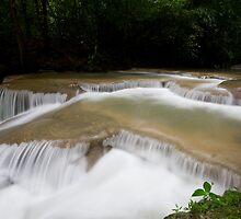 Stream in Erawan by Kenji Ashman