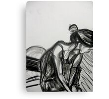 Femininity within Fitness #3 Canvas Print