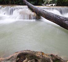 Cascade Erawan 2 by Kenji Ashman