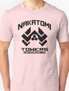 Nakatomi Towers Los Angeles CA T-Shirt Funny Cool T-Shirt