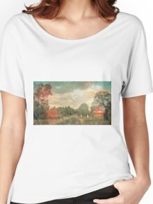 Lonely Vintage Railway Photo Women's Relaxed Fit T-Shirt
