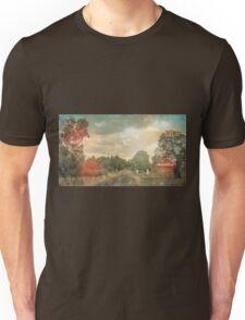 Lonely Vintage Railway Photo Unisex T-Shirt