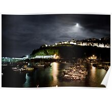 Deepening Night Over Cornwall Poster