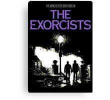 The Exorcists (Supernatural & The Exorcist) Canvas Print