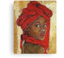 Black Lady No. 12 Canvas Print