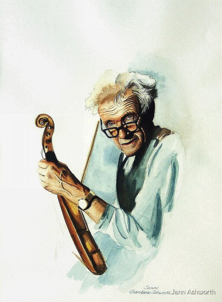 The Master and his Violin by Jann Ashworth
