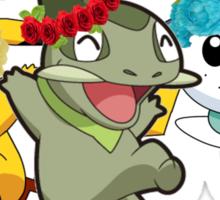 Pokemon Pals In Flower Crowns Sticker
