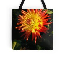 Multi Colored Flower Tote Bag