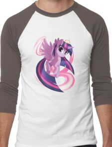 Twilight Sparkle Men's Baseball ¾ T-Shirt