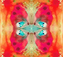 Charmed - Abstract Art By Sharon Cummings by Sharon Cummings
