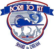 Born to Fly by rustyredbubble