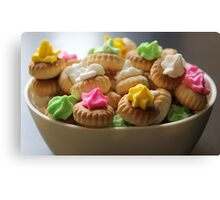 Ice Gem Biscuits I Canvas Print