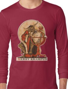 Merry Krampus Long Sleeve T-Shirt
