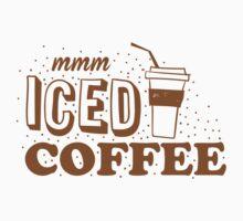 mmm ICED COFFEE One Piece - Short Sleeve