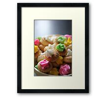 Ice Gem Biscuits III Framed Print
