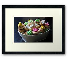 Ice Gem Biscuits IV Framed Print