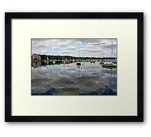 Lake Harriet and Bandshell Framed Print
