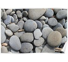 Rocks on Ruby Beach  Poster