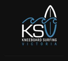 KSV Dark T Pocket Logo by Kneeboard Surfing Victoria