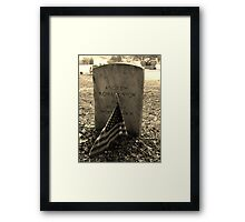 Proud Artistic Photograph by Shannon Sears Framed Print
