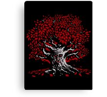 Winterfell Weirwood Canvas Print