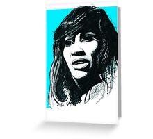 Tina Turner Greeting Card