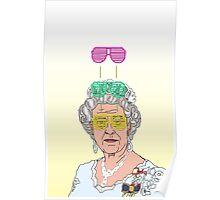 Cool Down - Queen Elizabeth II Poster